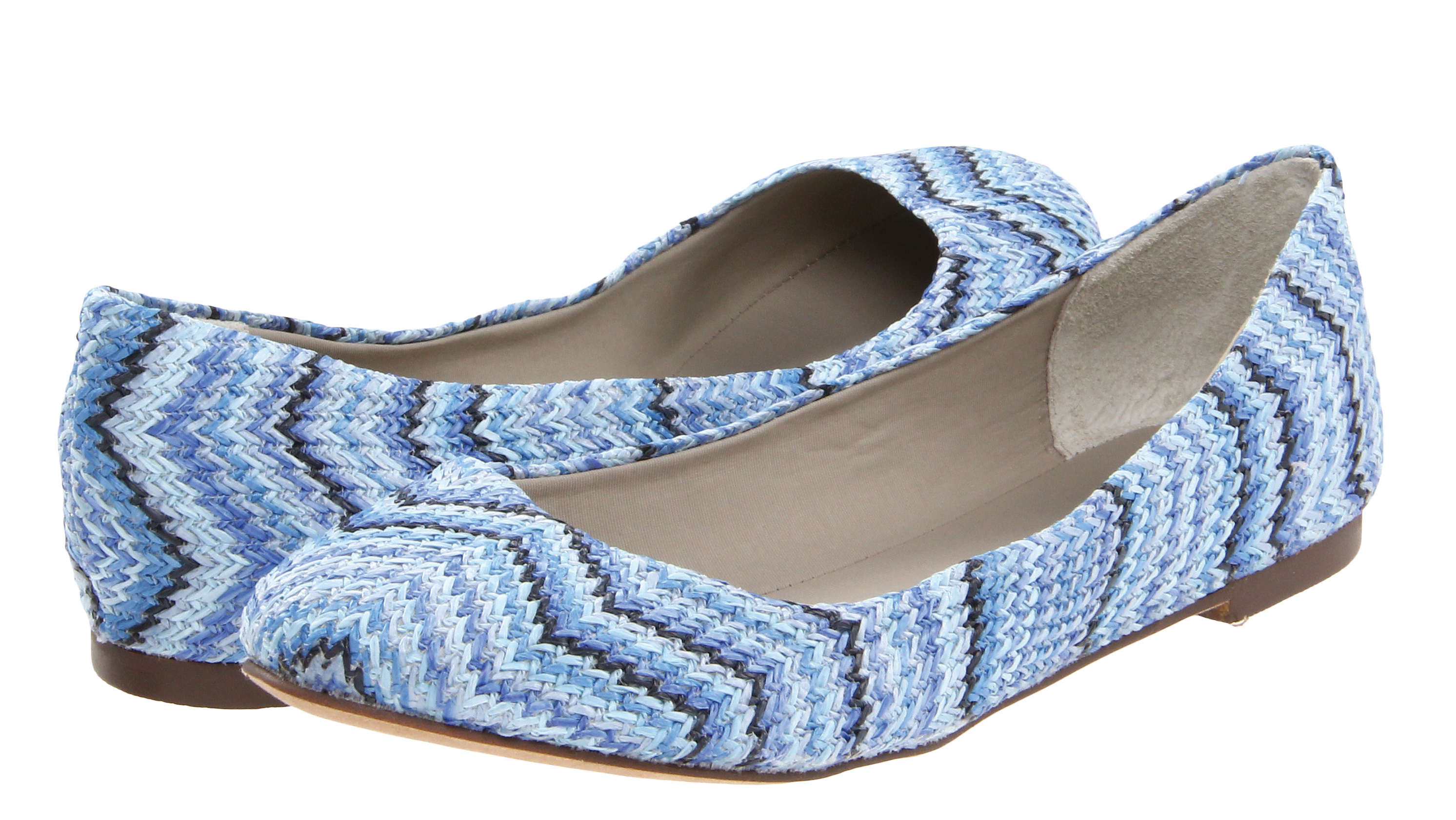 This patterned ballet flat can dress an outfit up or down
