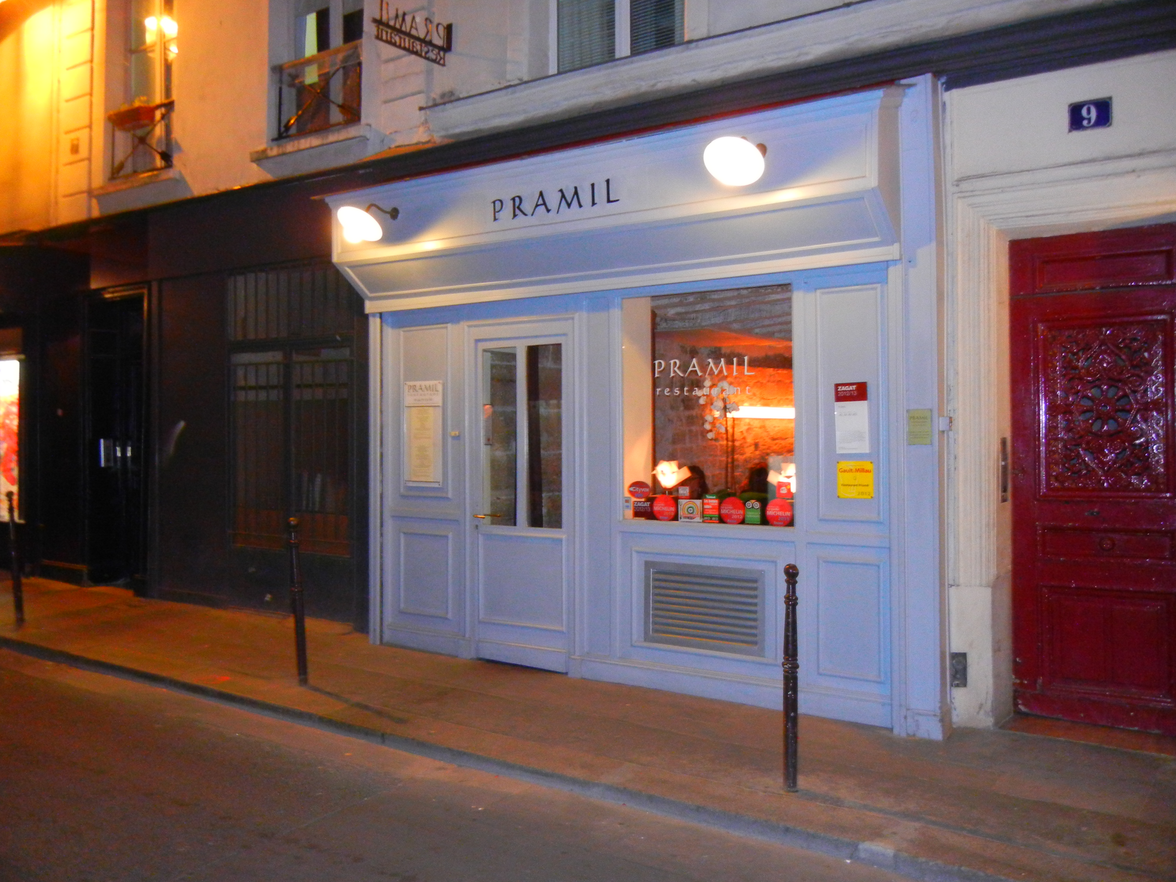 Pramil is my favorite restaurant in Paris