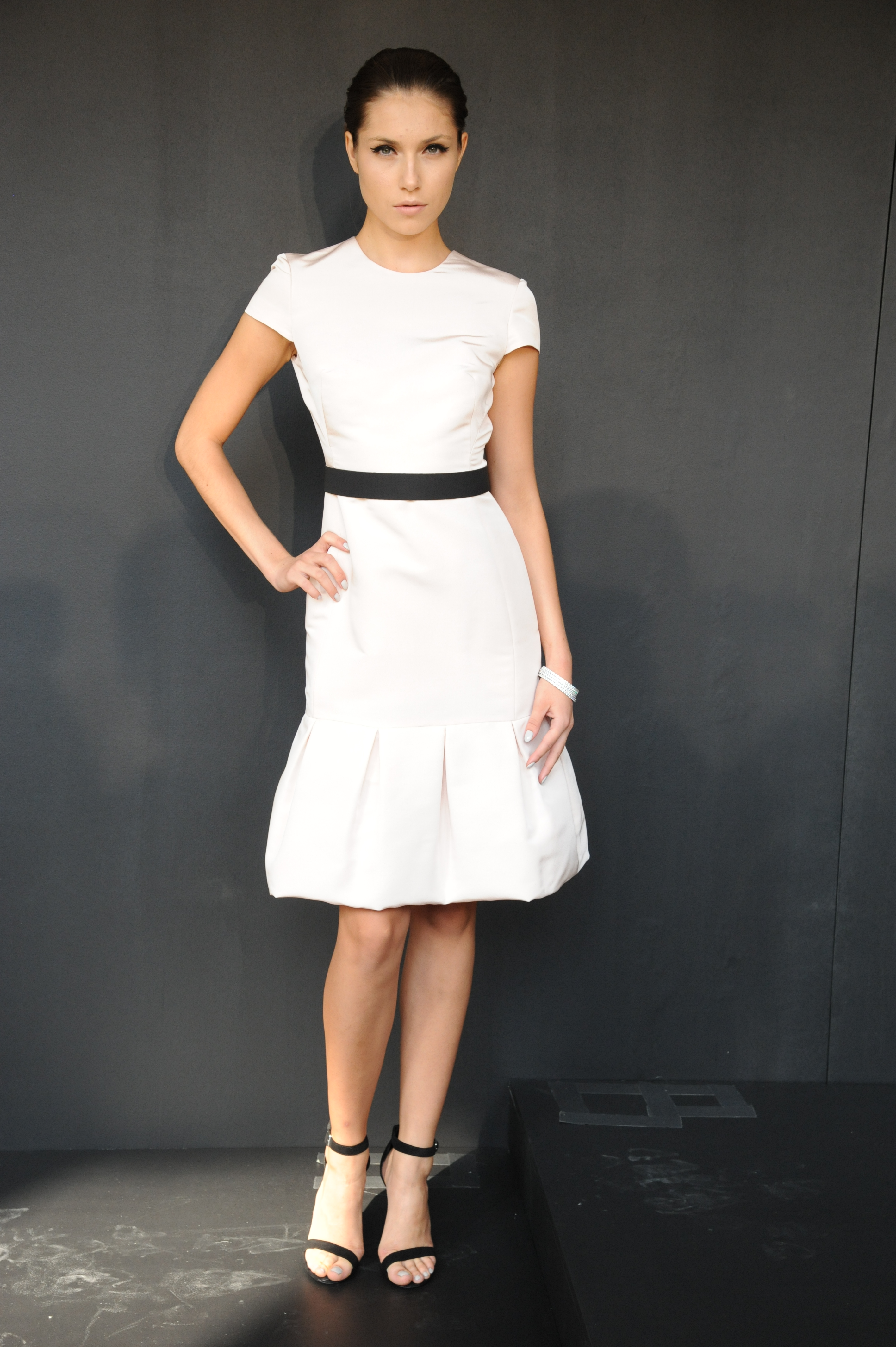 White is a hot color for spring