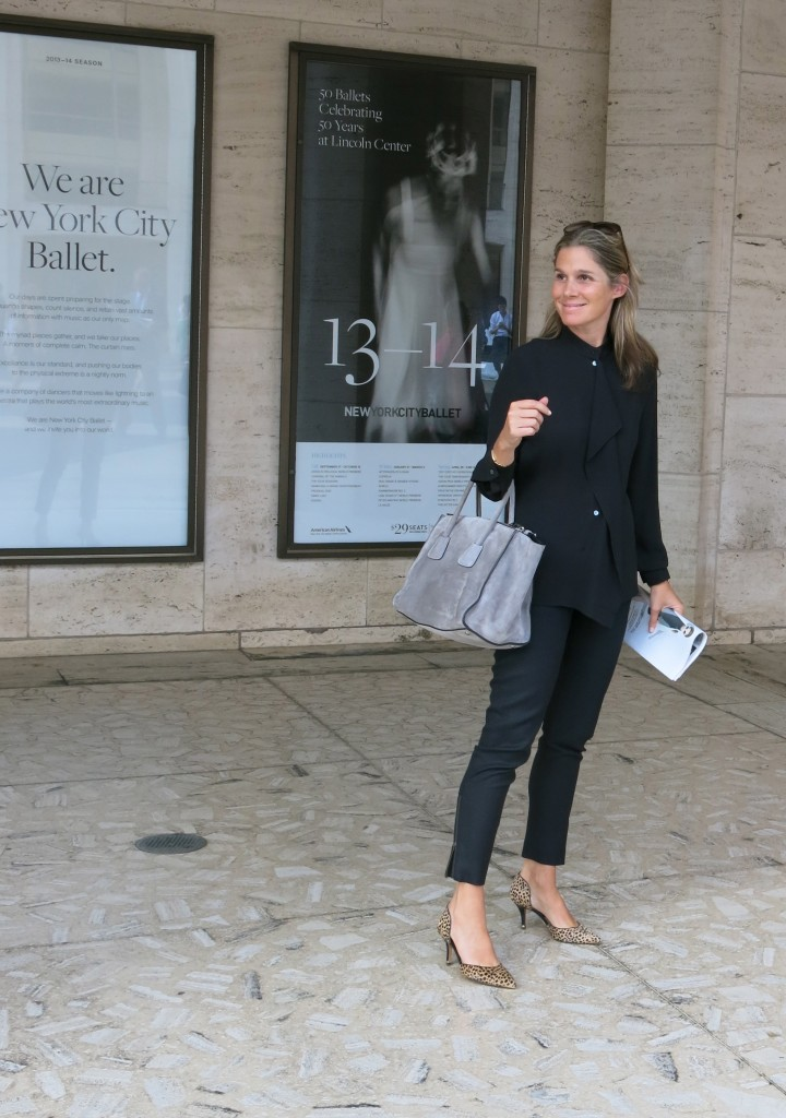 I love that Aerin Lauder doesn't need to attract attention to herself with a crazy outfit