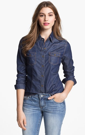 5 Stylish Denim Shirts